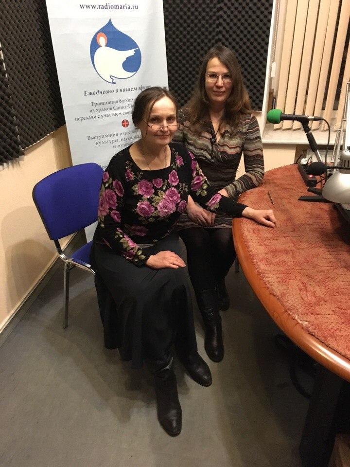 Ольга Игнатьева и Роксана Бондаревская в эфире Радио Мария, 08.03.2018
